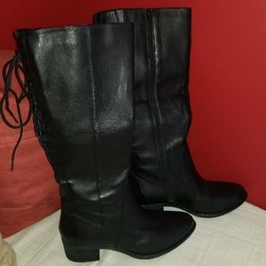 Steve madden laceup western boots